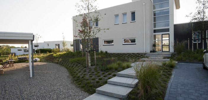 Exclusieve tuin Joure – eerste fase gereed