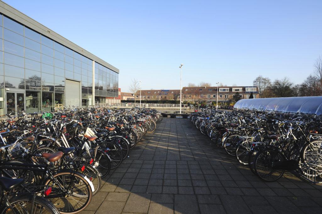 Huidige situatie - fietsen bepalen het beeld