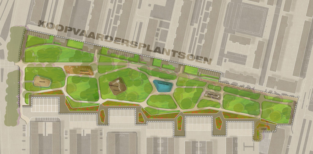 Transformatie Koopvaardersplantsoen tot wijkpark